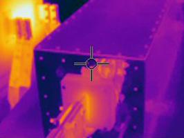 FLIR-temperature-distribution-on-filter-endplate
