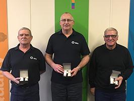 MPE 40 year service awards
