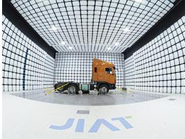 Truck under test